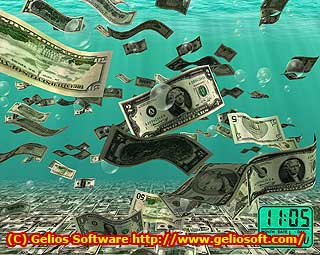 3D Money Screen Saver