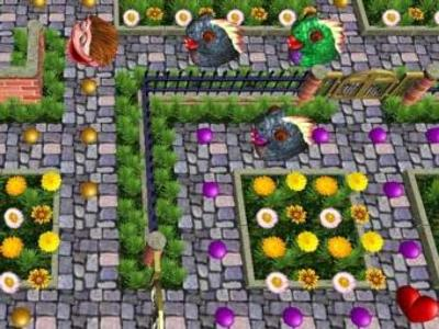 3D Dragon Maze Game full screenshot