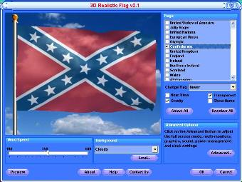Rebel Flag Screen Saver Free Download