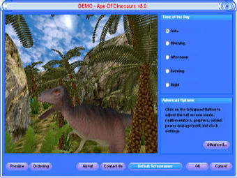 Age of Dinosaurs 3D Screen Saver Free Download